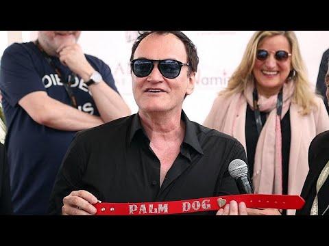 العرب اليوم - شاهد: فيلم المخرج تارانتينو يفوز بجائزة سعفة الكلب في مهرجان كان