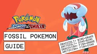 Arctozolt  - (Pokémon) - Pokemon Sword & Shield Fossil Pokemon Guide (How To Farm All Fossil Types)