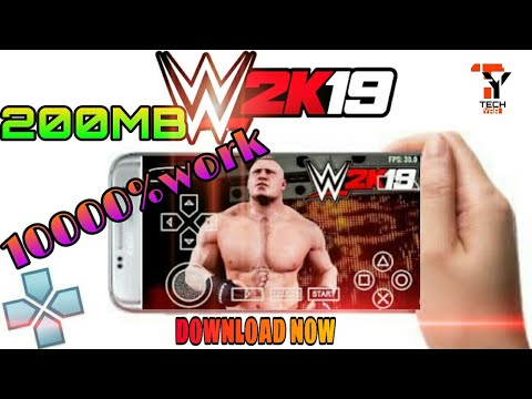 {200 MB} HOW TO DOWNLOAD REAL WWE2K19 PSP FULL GAME || DOWNLOAD WWE2K19 ISO FOR ANDROID || HD
