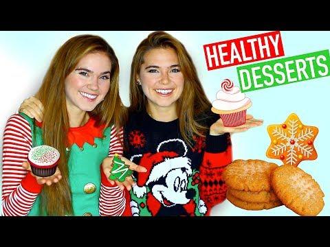 HEALTHY HOLIDAY DESSERT RECIPES – Easy & Vegan