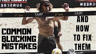 Common Beach Volleyball Blocking Mistakes