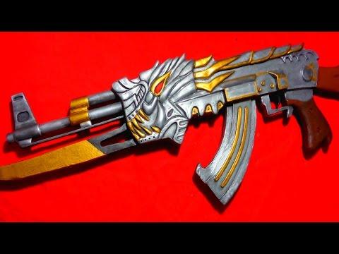Como fazer AK 47 Fury  do CROSSFIRE - PARTE 3