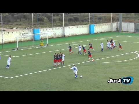 Preview video GINOSA-SUD EST 0-1 Ginosa sfortunato con una cinica Sud Est che approfitta dell´unico errore della difesa