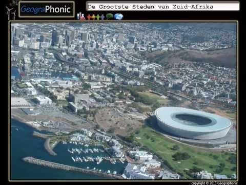 De Grootste Steden van Zuid-Afrika, land van Nelson Mandela