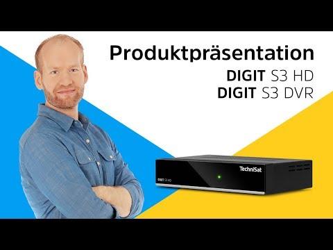 DIGIT S3 DVR / S3 HD | Einfach zu bedienender, kompakter HDTV-Receiver. | TechniSat