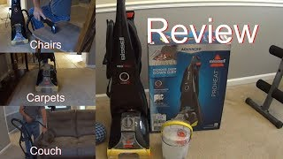 Initial Review - Bissell PROHEAT Advanced -  Carpet Cleaner Demonstration