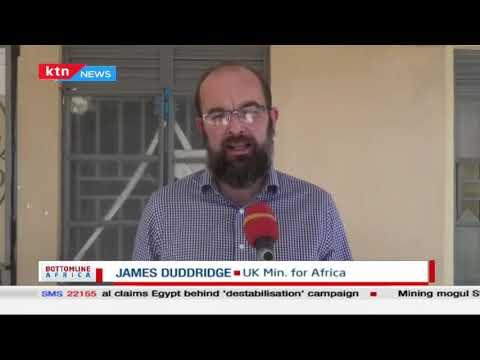UK minister for Africa James Duddridge visits   Bottomline Africa
