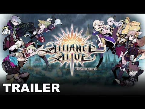 The Alliance Alive HD Remastered - Together, We Rise (PS4, Nintendo Switch, PC) thumbnail