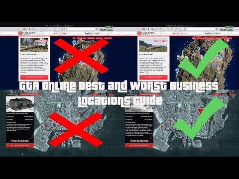 GTA Explaining the Best and Worst Business Locations Guide