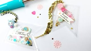 Up Close And Personal ~ Fuse Tool ~ DIY Embellishments/Gift Tags + + + Inkie Quill