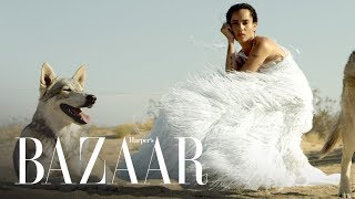 Zoë Kravitz Calls Out Photoshop In Her October BAZAAR Cover Shoot | Harper's BAZAAR
