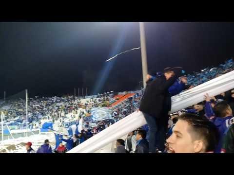 """""""Godoy cruz vs Gremio recibimiento"""" Barra: La Banda del Expreso • Club: Godoy Cruz"""