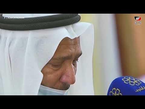 صلاة الجنازة على الشيخ صباح الأحمد أمير الكويت
