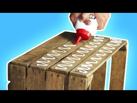 Costruire una graziosa panchina in 60 secondi!