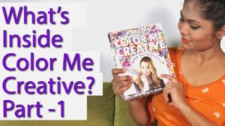 Part 1| Flip & Review Color Me Creative By Kristina Webb | Prachi Gajjar