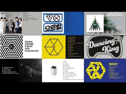Exo all songs   mama   the power of music   2017