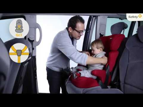 Safety First 1st Ever Safe Kindersitz 9 - 36 kg - Gruppe 1 2 3