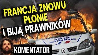 Francja Znowu Płonie – Policja Bije PRAWNIKÓW W SĄDZIE – Unia Europejska MILCZY
