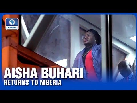 'I Still Need More Rest' Says Aisha Buhari After Return From UK