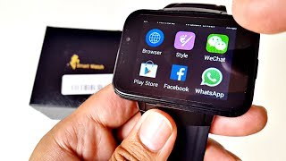 DM98 Android Smart Watch 3G - Large 2.2