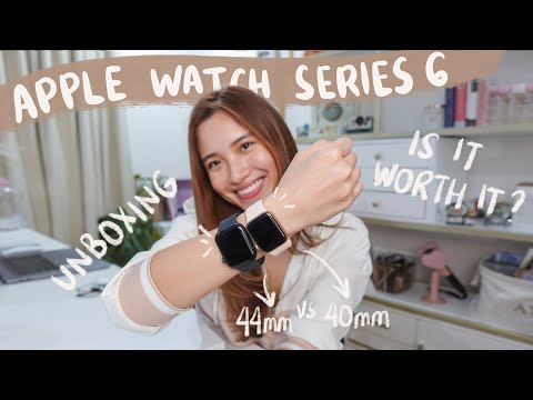 APPLE WATCH SERIES 6 40mm & 44mm Unboxing | Angel Yeo