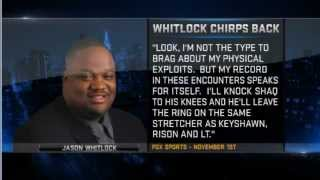 Shaq responds to Jason Whitlock on Inside the NBA