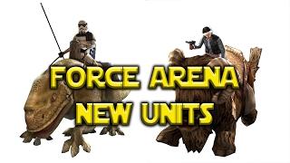 Star Wars: Force Arena - New Units Bantha Rider Dewback Rider