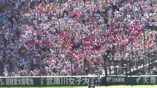 【高音質版】浦添商 ハイサイおじさん〜浦商サンバ@甲子園