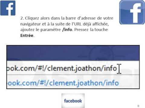 comment trouver adresse email facebook