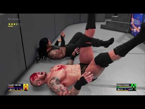 WWE 2K18 Roman Reigns vs  Randy Orton Grudge Match