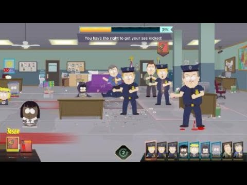 South Park™: The Fractured But Whole™ : THE POLICE REACT TO BLACK CHARACTERS [GAY GIRL HERO]