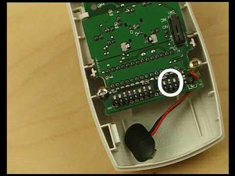 Installing PIR (Motion Sensor) for Response Wireless Alarms
