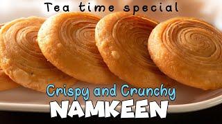बहुत ही खस्ता करारी और टेस्टी नमकीन / Tea time special / Crispy and Crunchy Snacks