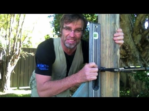 How to Set a Fence Post. FAST!