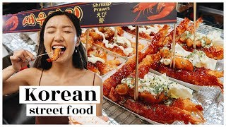 Korean Street Food heaven! you have to try this | WahlieTV EP691