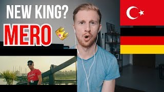 MERO   OLABILIR (OFFICIAL VIDEO)  TURKISHGERMAN RAP REACTION