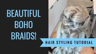 How to: Boho Braids | Sexy Hair | SalonCentric