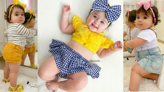 HIGH CLASS FASHION Dresses For Baby GIRL | Cute Stylish Outfits For Little Baby Girls | Trendy India