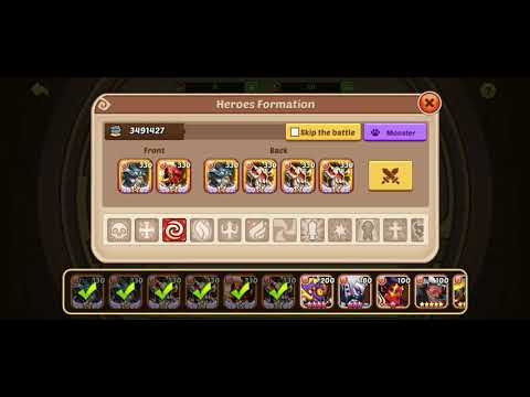 IDLE  HEROES Seal Land 20 Cleared..