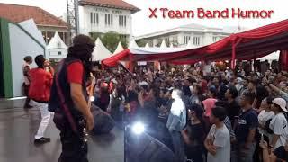 # VIRAL,, X Team Band Humor Fenomenal Indonesia