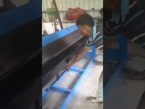 Manual Sheet Folding Machine