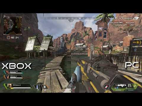 Bad PC VS Xbox One X (Apex Legends Graphics Comparison)