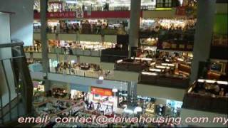preview picture of video 'Penang Georgetown Prangin Mall Shopping Centre'