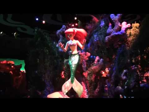 Download Under the Sea Journey of the Little Mermaid Walt Disney World Magic Kingdom Complete Ride Mp4 HD Video and MP3