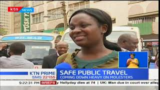 Women sexually harassed in public transport to report to NTSA