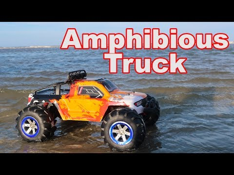 Amphibious RC Truck...Or Is It? - Feiyue FY12 1/12th - TheRcSaylors