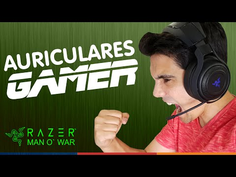 AURICULARES GAMING INALÁMBRICOS 7.1 | Razer ManO´War (en español)