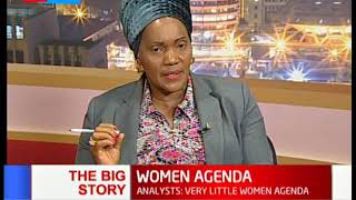 WOMEN AGENDA: Martha Karua insists women politicians' factions are mere cheerleaders | THE BIG STORY