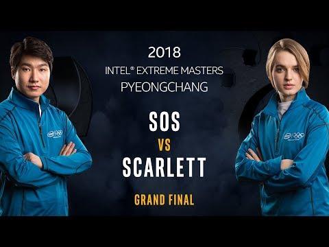 Starcraft 2 esports final sOs vs. Scarlett