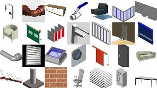 Revit Prob.#2.DOWNLOAD Families/library/furniture | Full Solution In Hindi